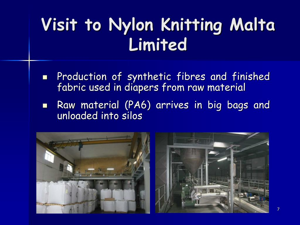 Visit to Nylon Knitting Malta Limited