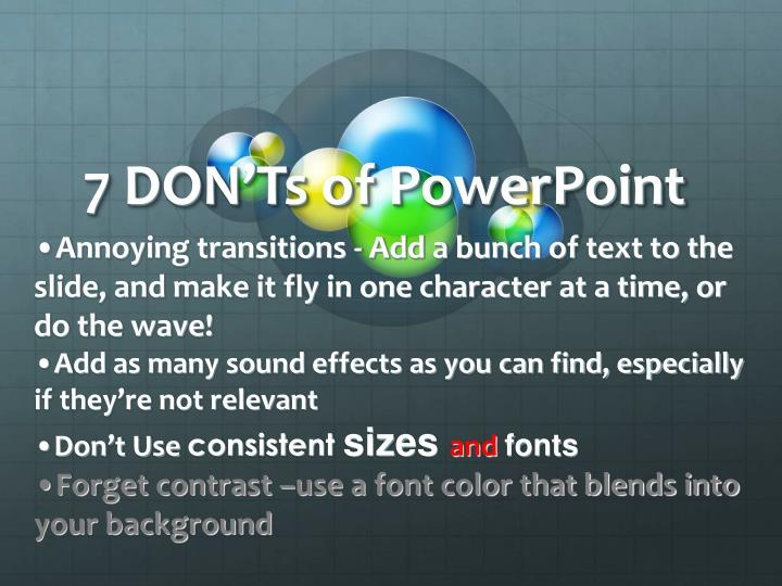 7 don ts of powerpoint3