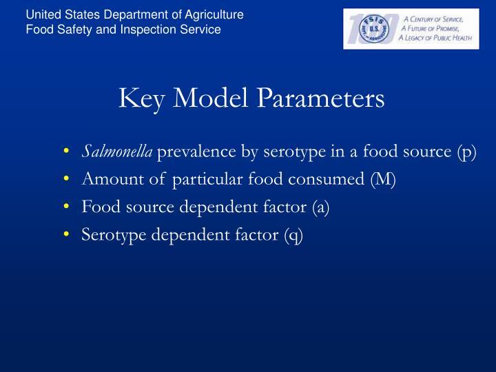 Key Model Parameters
