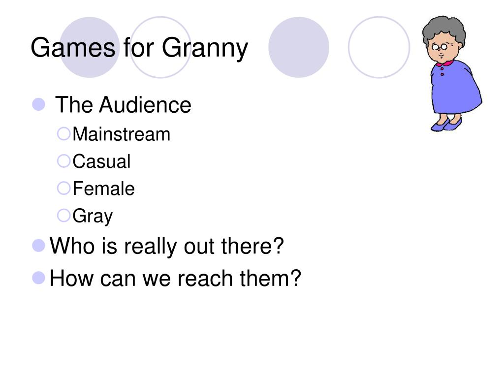 Games for Granny