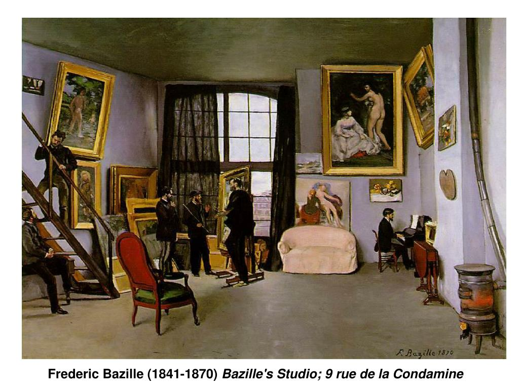 Frederic Bazille (1841-1870)