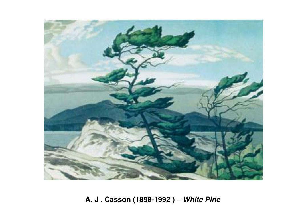 A. J . Casson (1898-1992 ) –