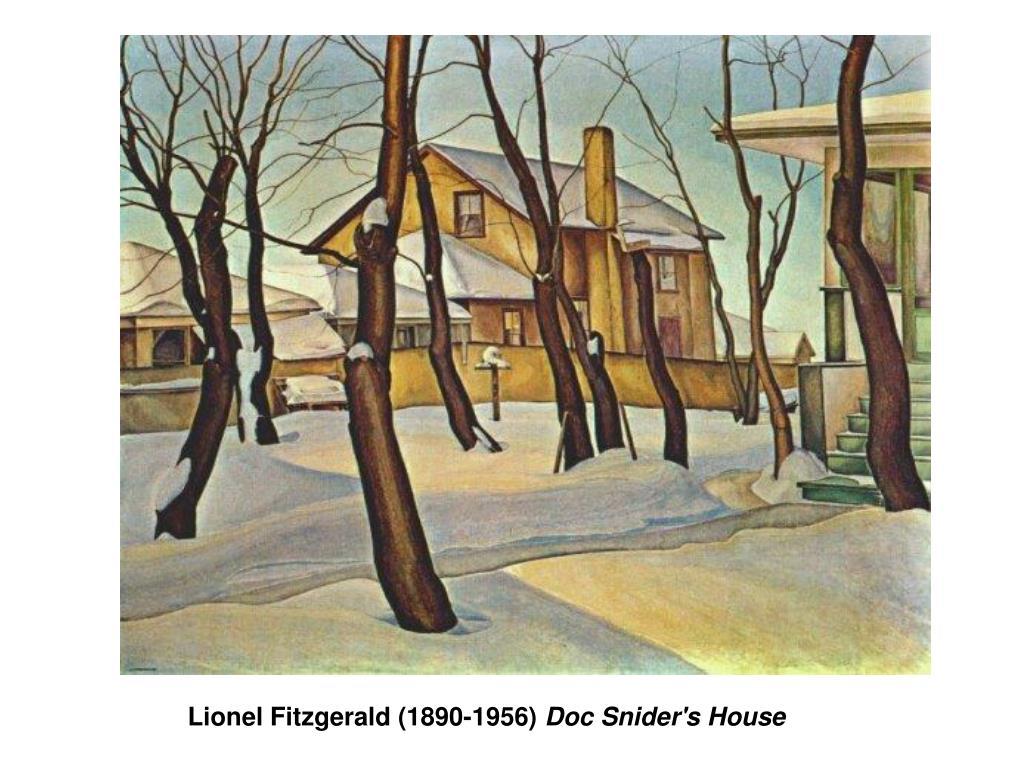 Lionel Fitzgerald (1890-1956)