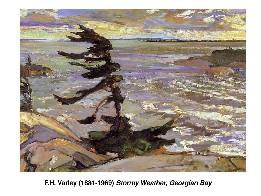 F.H. Varley (1881-1969)