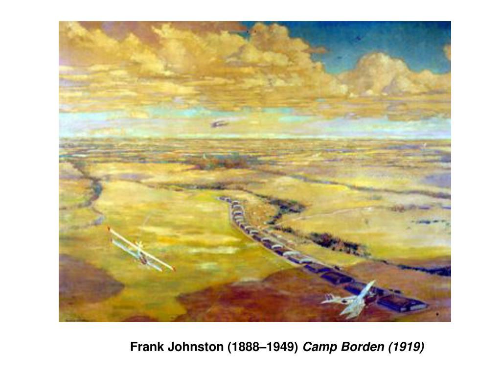 Frank Johnston (1888–1949)