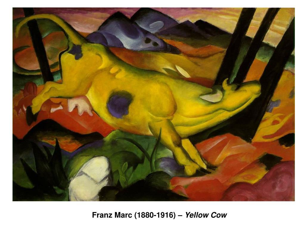 Franz Marc (1880-1916) –
