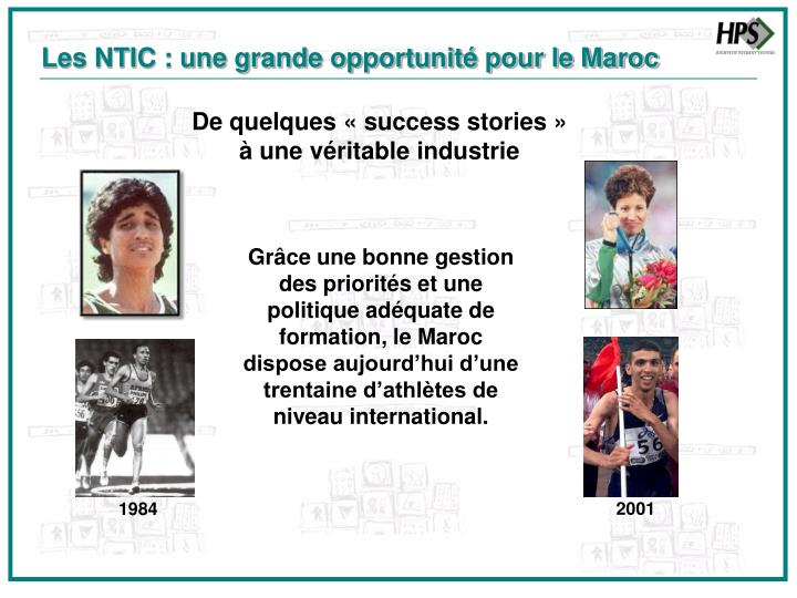 Les NTIC : une grande opportunité pour le Maroc