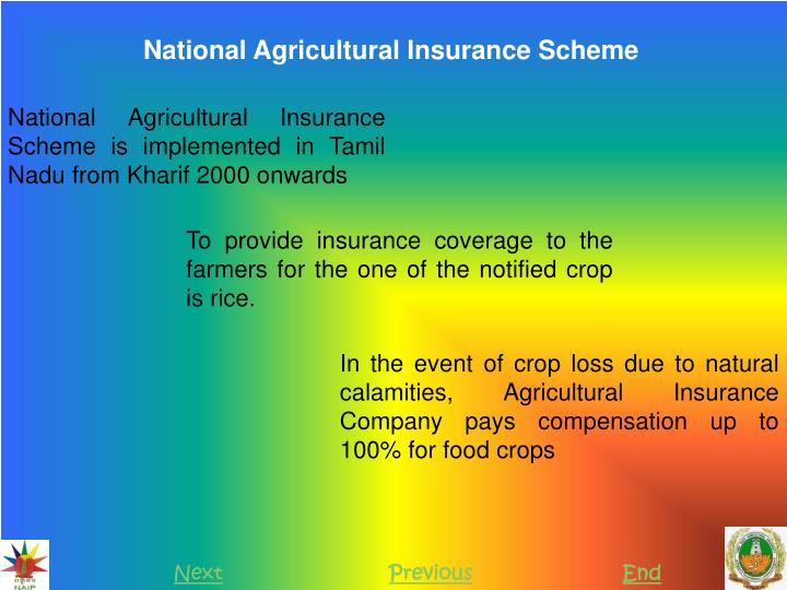 National Agricultural Insurance Scheme