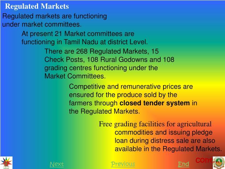 Regulated Markets
