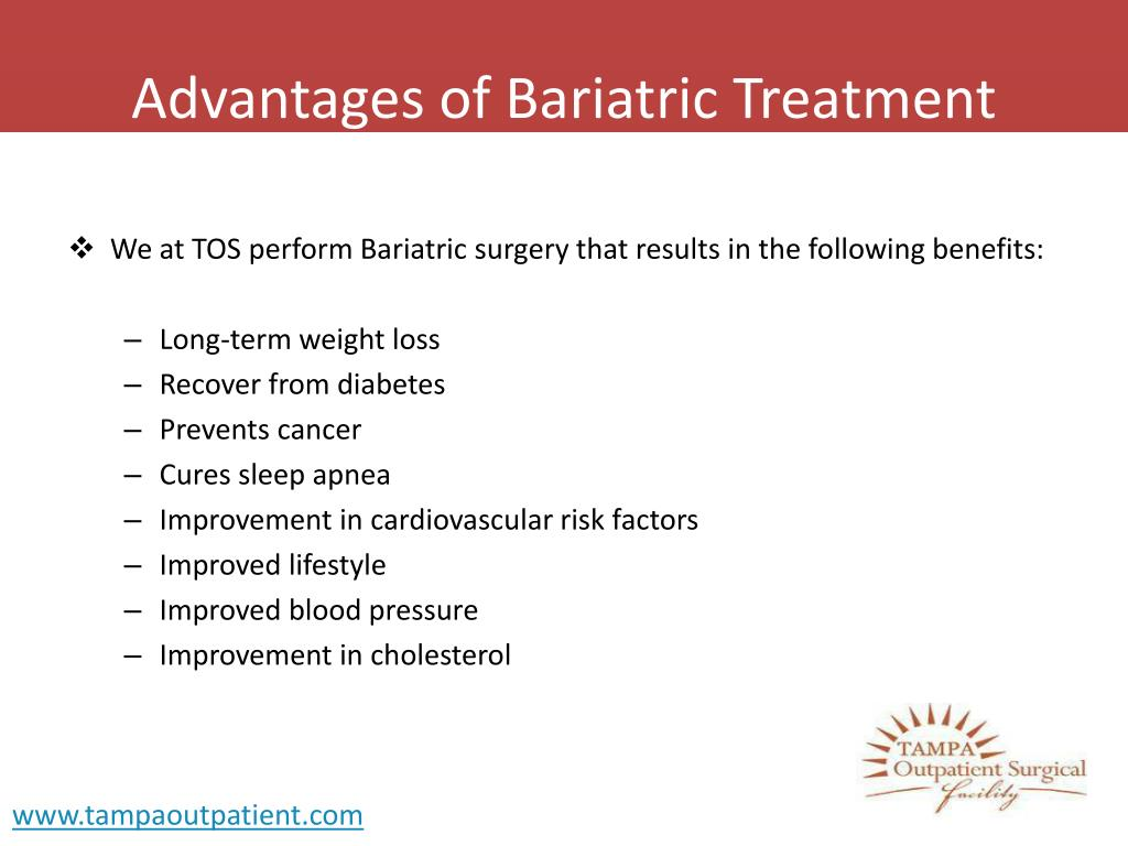 Advantages of Bariatric Treatment