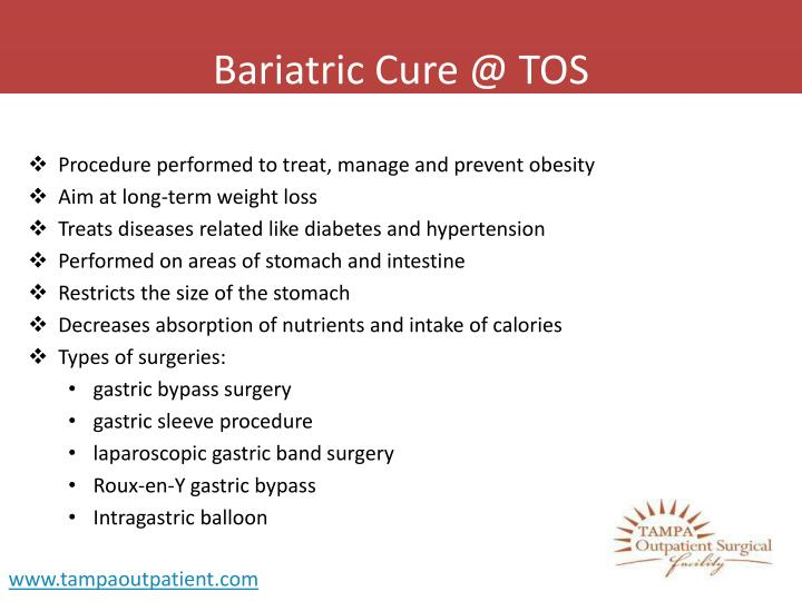 Bariatric cure @ tos