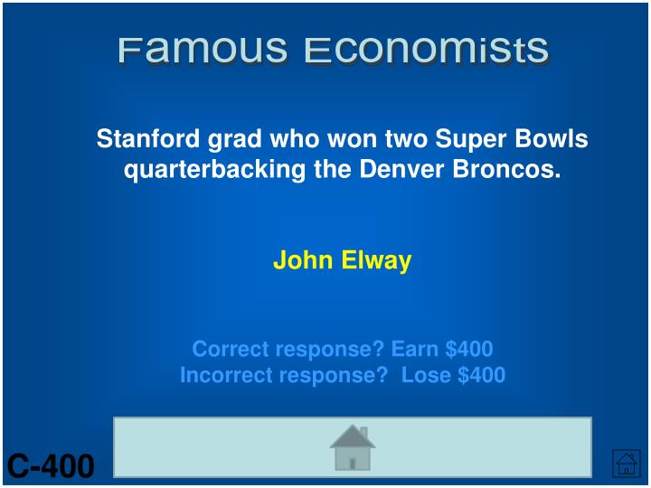 Famous Economists