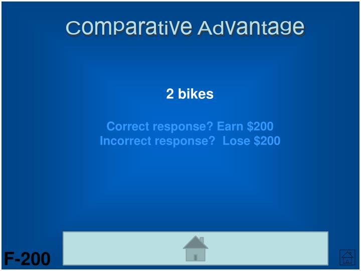 Comparative Advantage