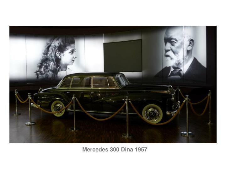 Mercedes 300 Dina 1957