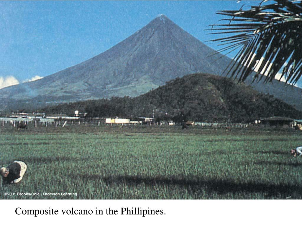 Composite volcano in the Phillipines.