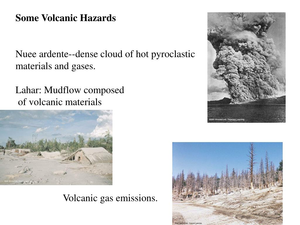Some Volcanic Hazards
