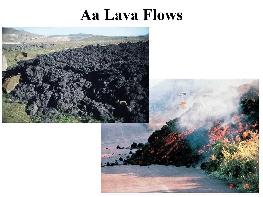 Aa Lava Flows