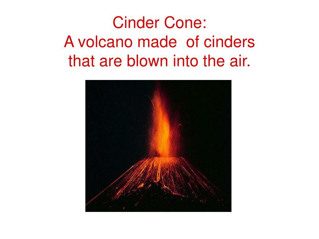 Cinder Cone: