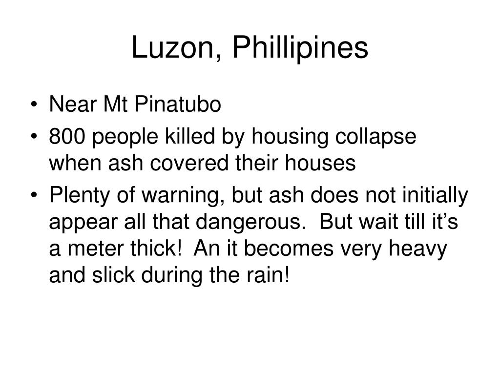Luzon, Phillipines