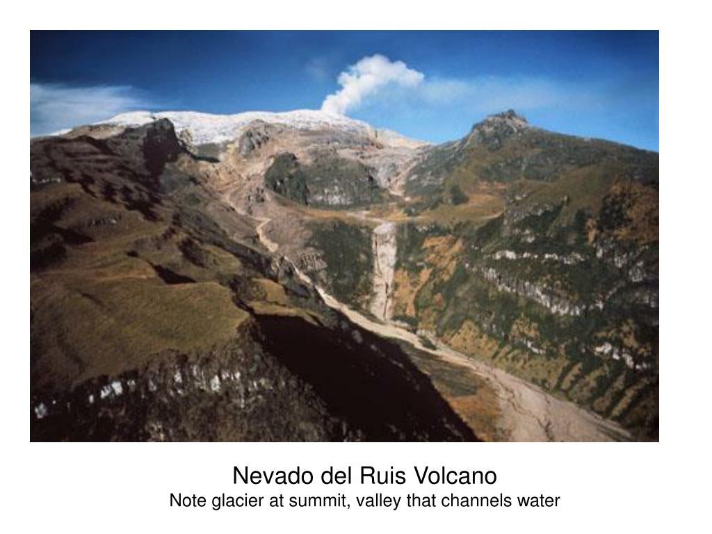 Nevado del Ruis Volcano