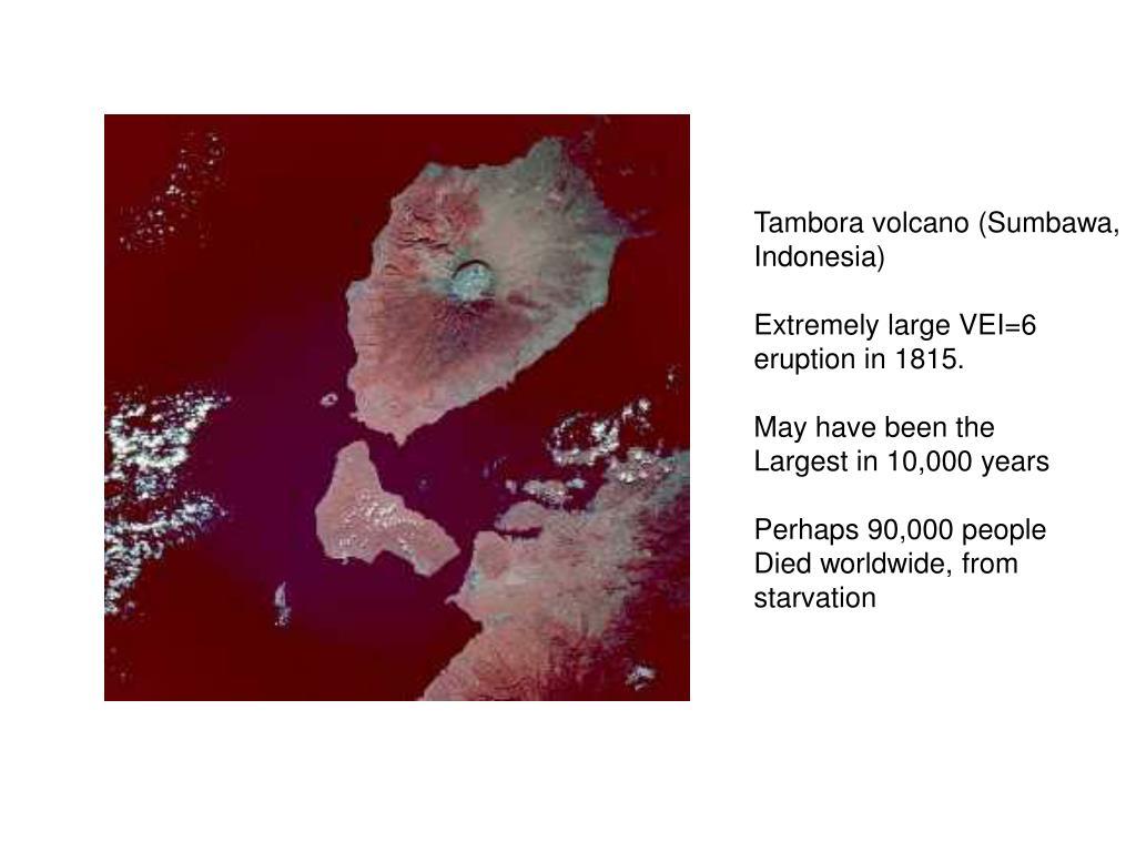 Tambora volcano (Sumbawa,