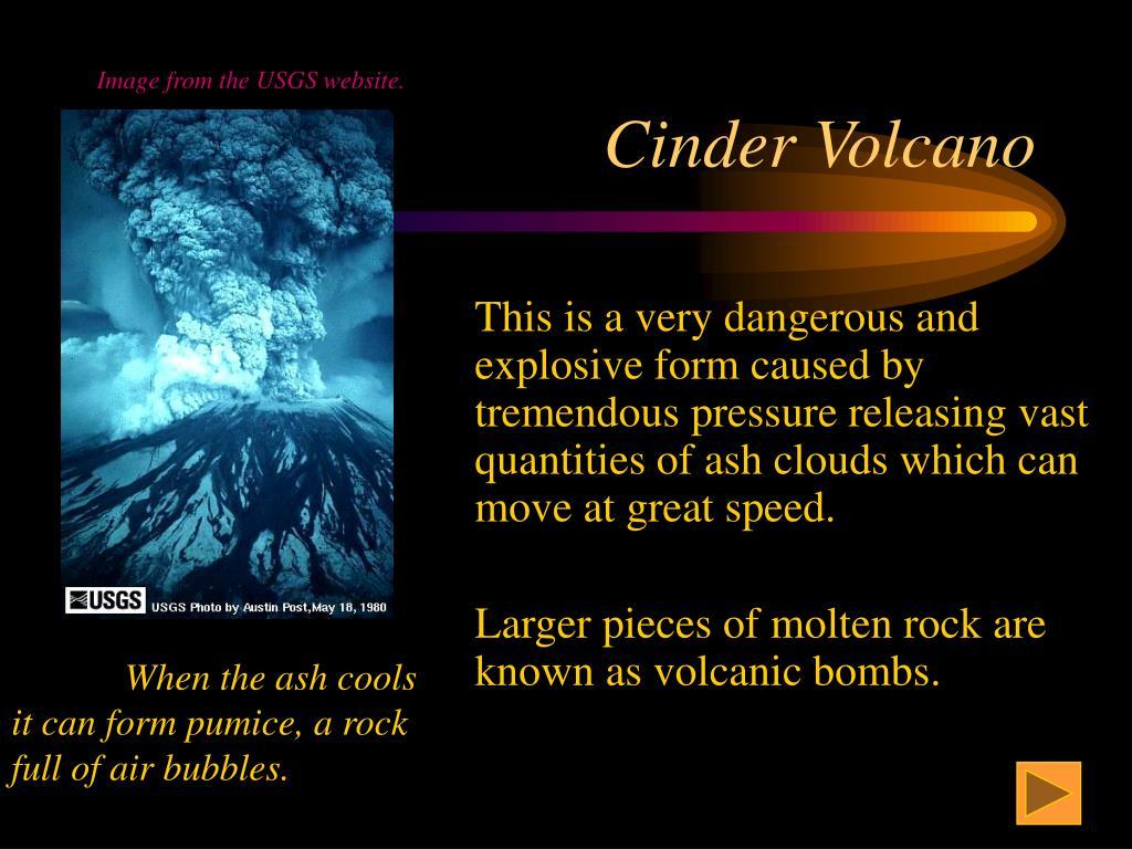Cinder Volcano