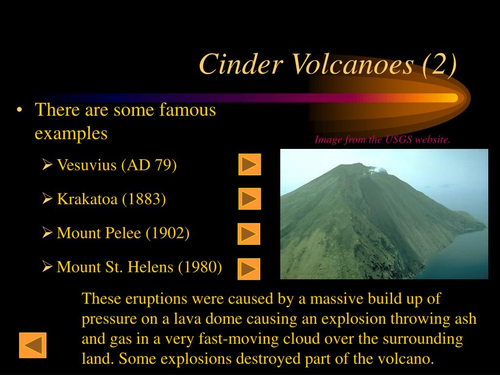 Cinder Volcanoes (2)