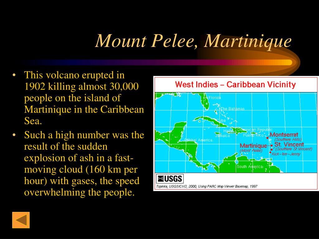 Mount Pelee, Martinique