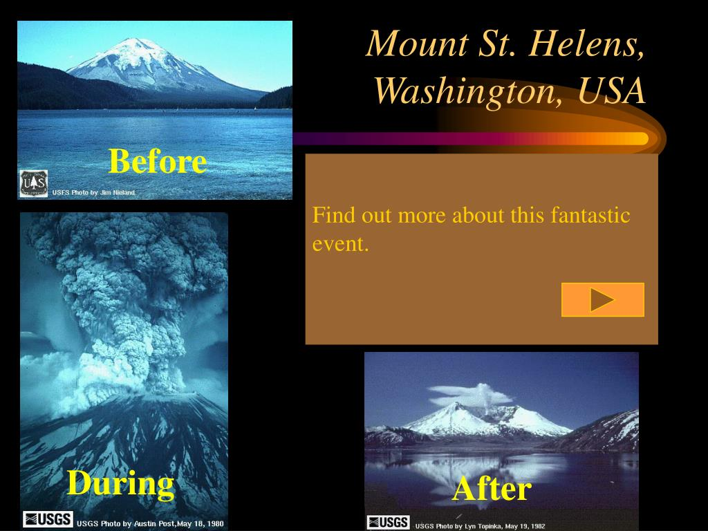 Mount St. Helens,