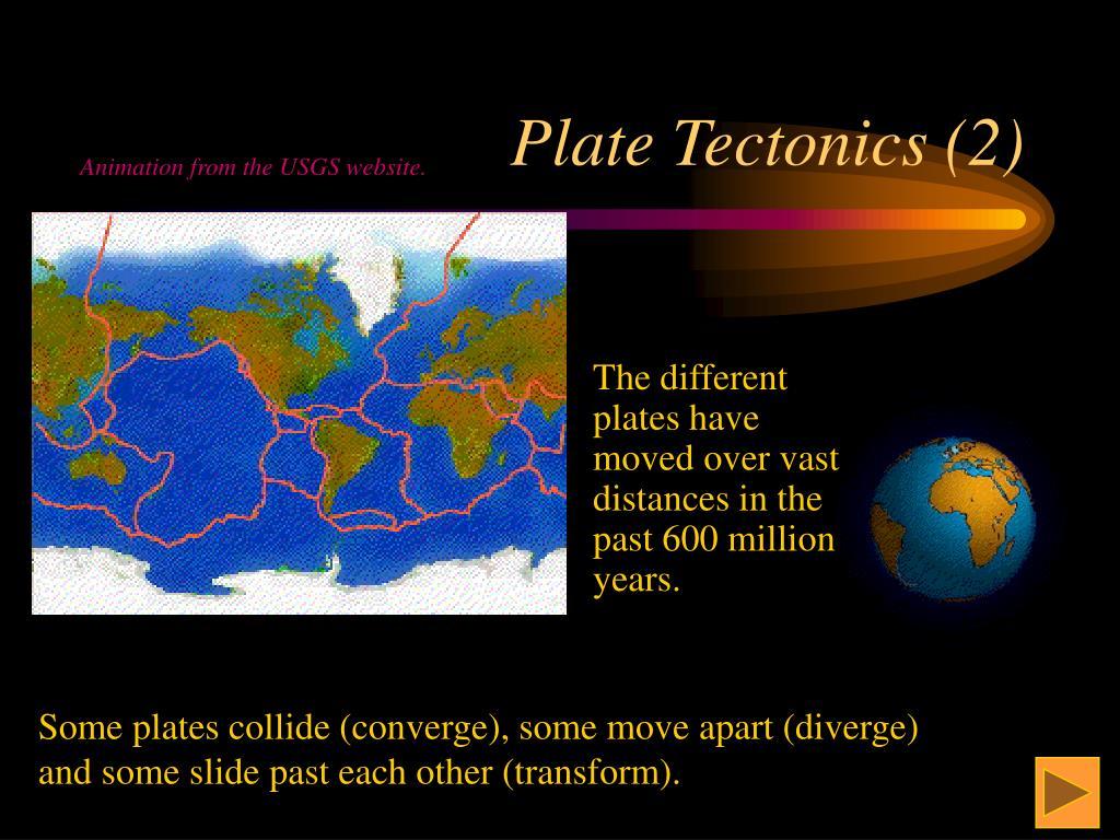 Plate Tectonics (2)