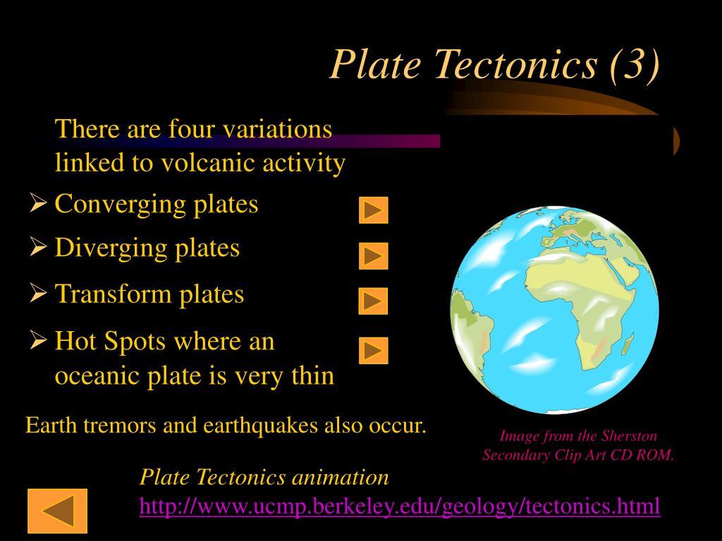 Plate Tectonics (3)