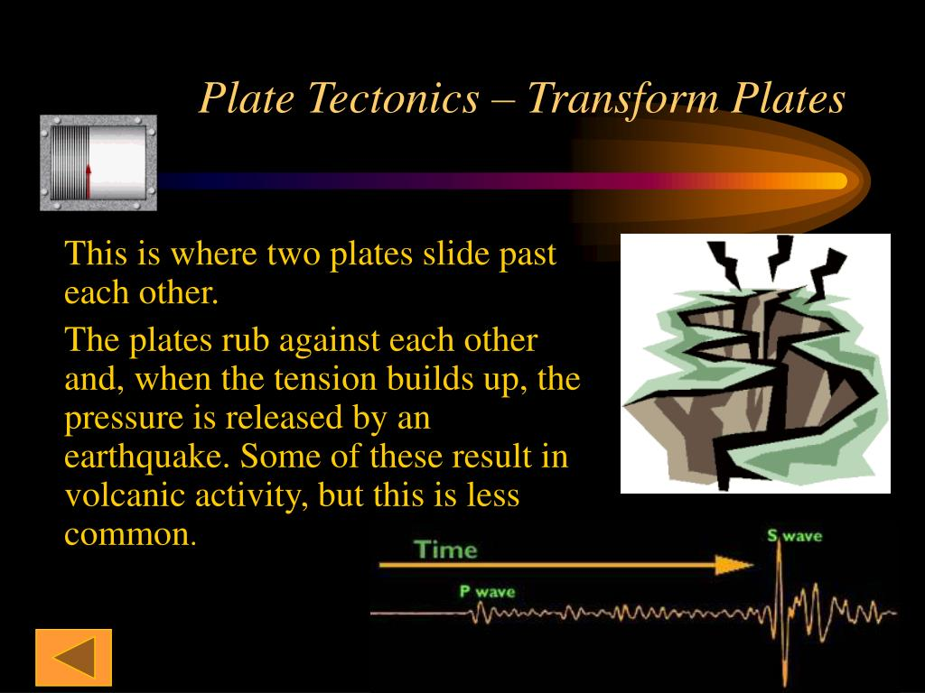 Plate Tectonics – Transform Plates