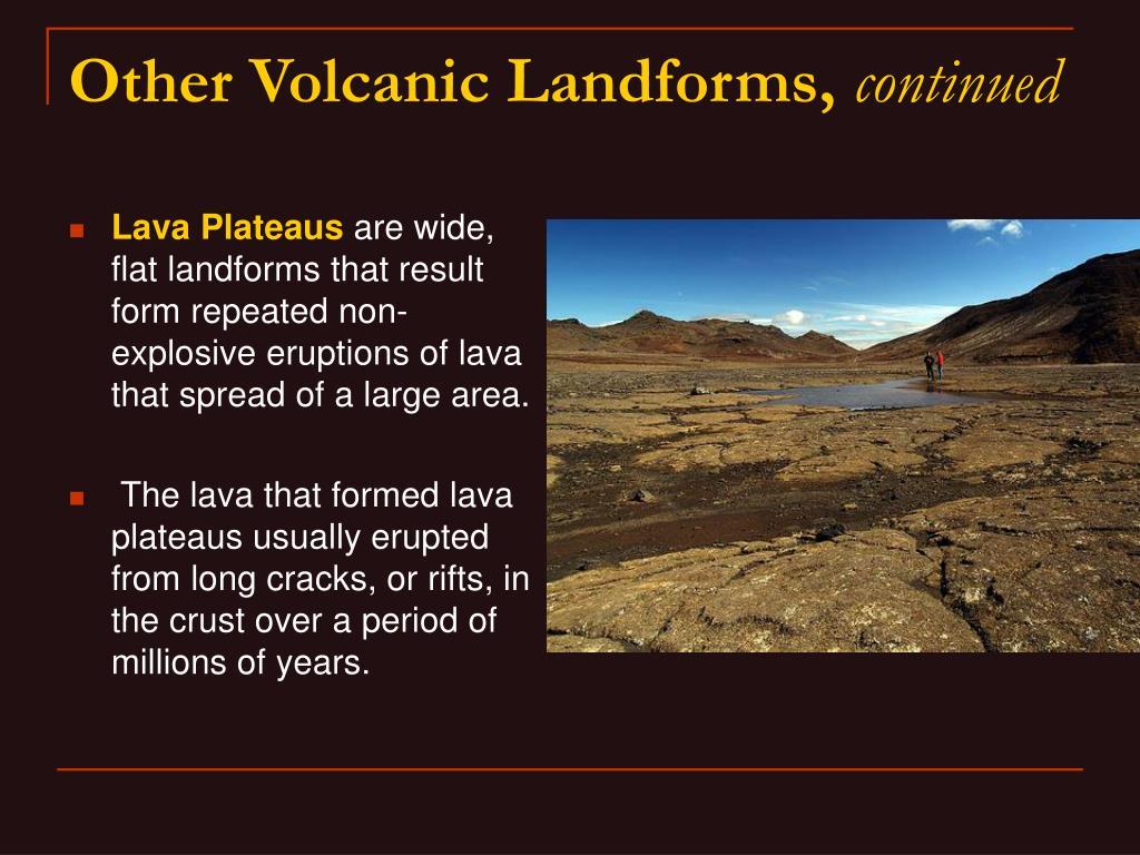 Lava Plateaus