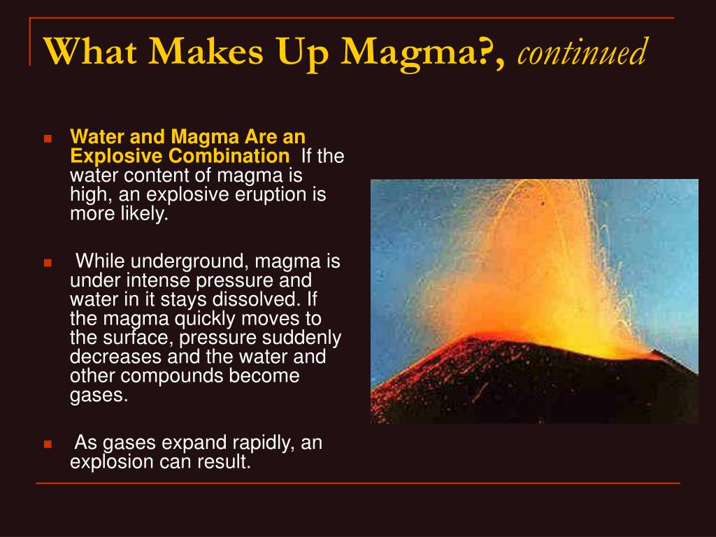 Water and Magma Are an Explosive Combination