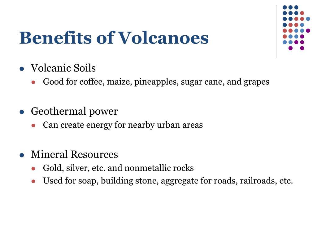 Benefits of Volcanoes