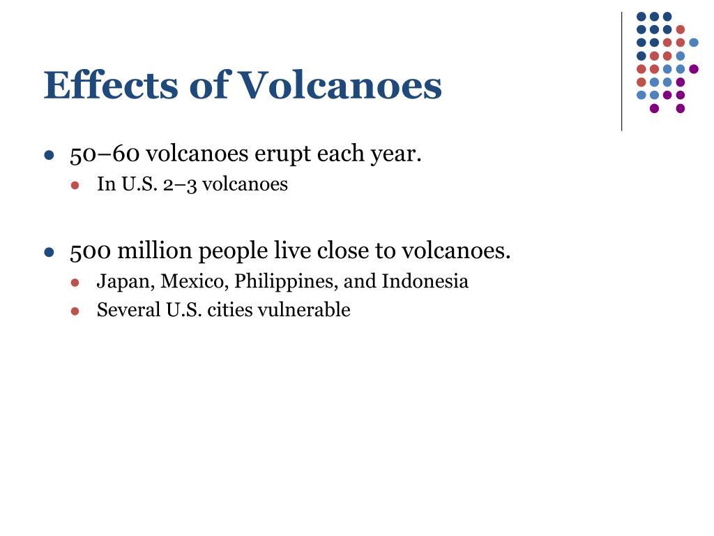 Effects of Volcanoes