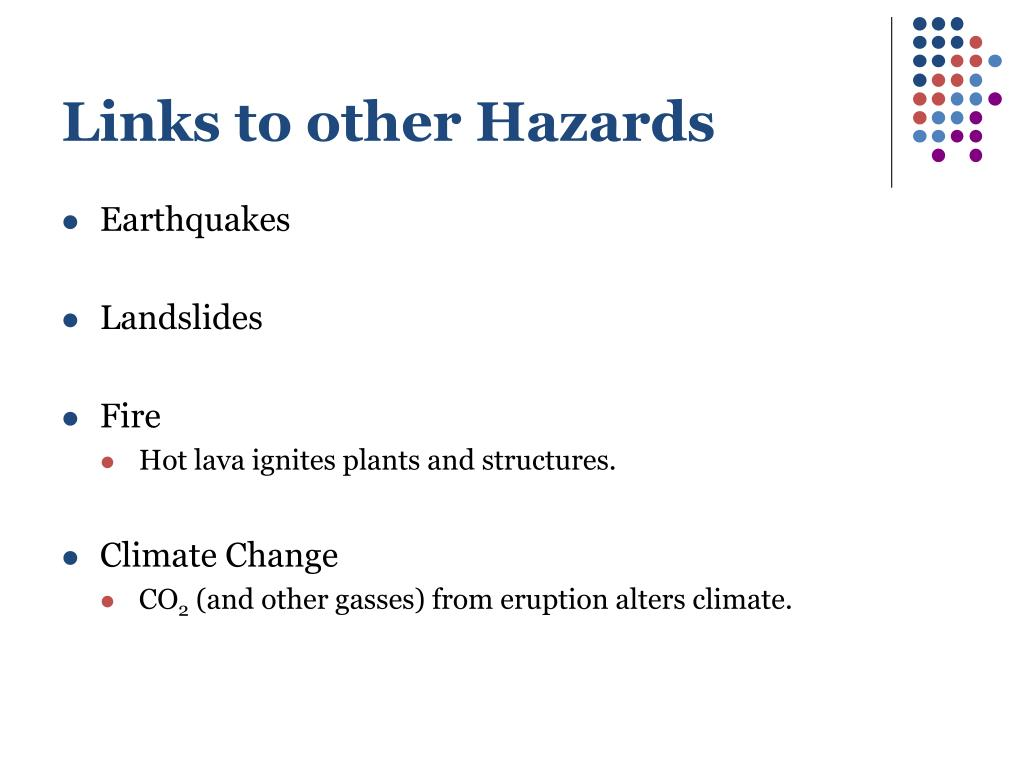 Links to other Hazards