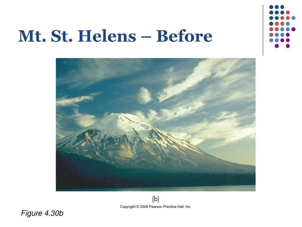 Mt. St. Helens – Before