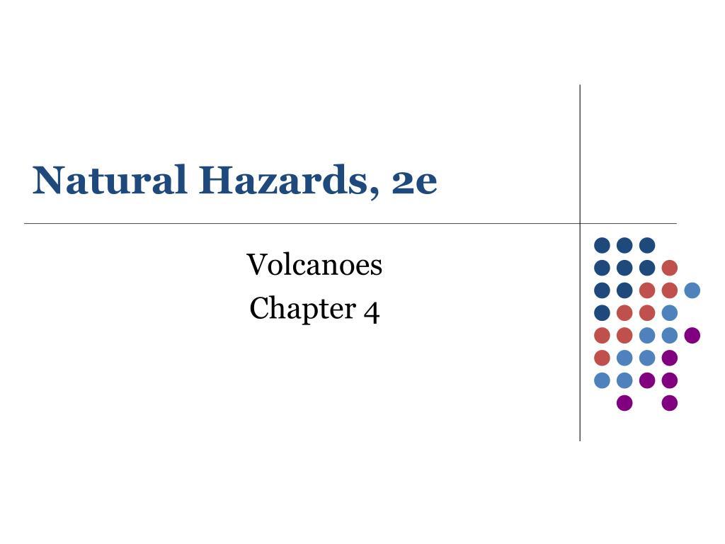 Natural Hazards, 2e