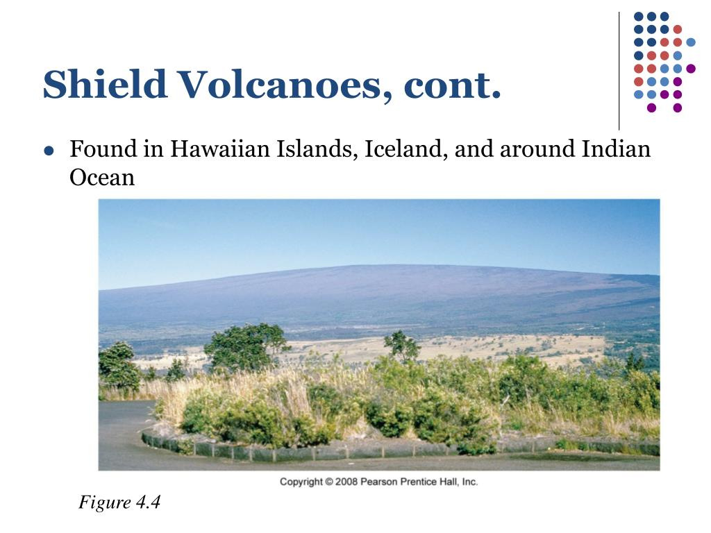 Shield Volcanoes, cont.