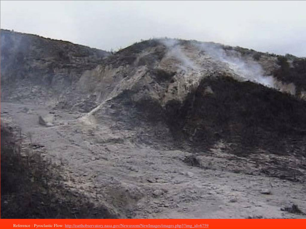 Reference : Pyroclastic Flow: