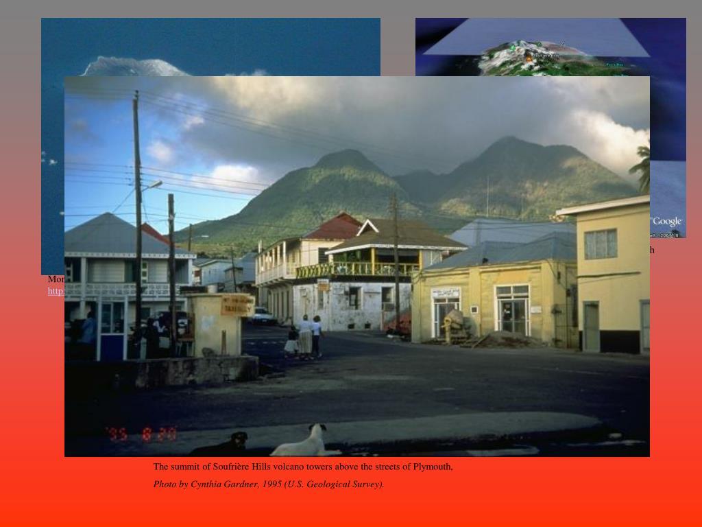 Montserrat. Taken from google earth