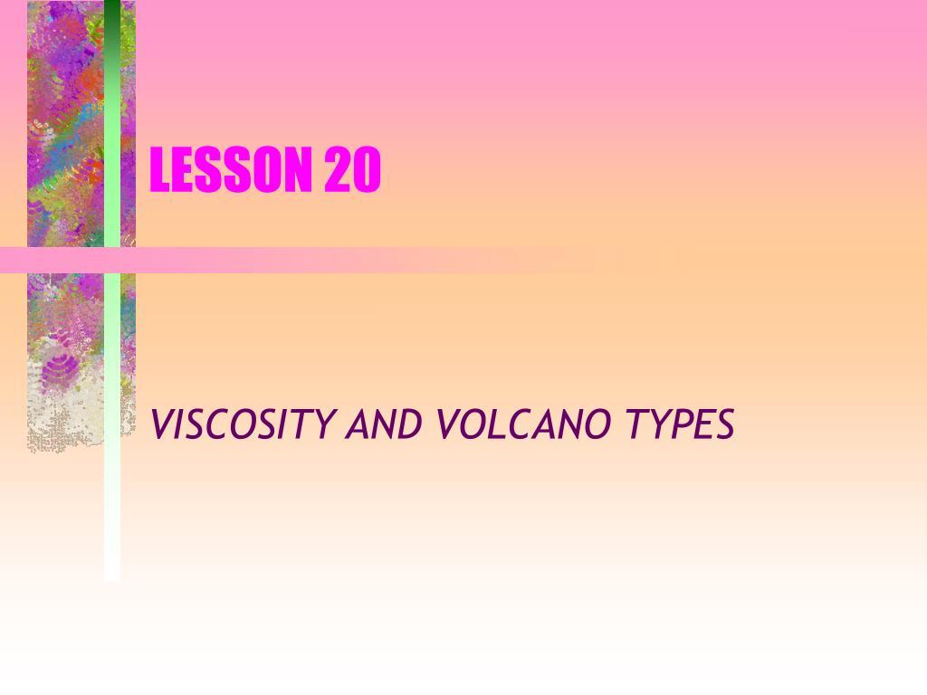LESSON 20