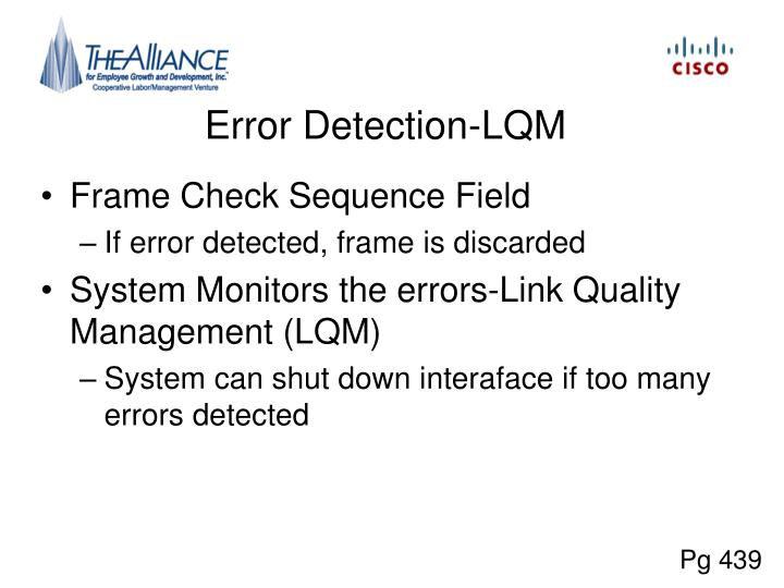 Error Detection-LQM