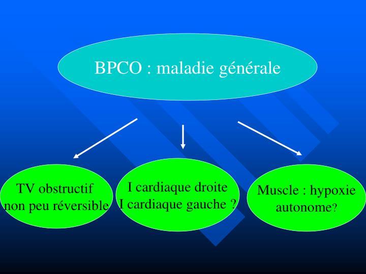 BPCO : maladie générale