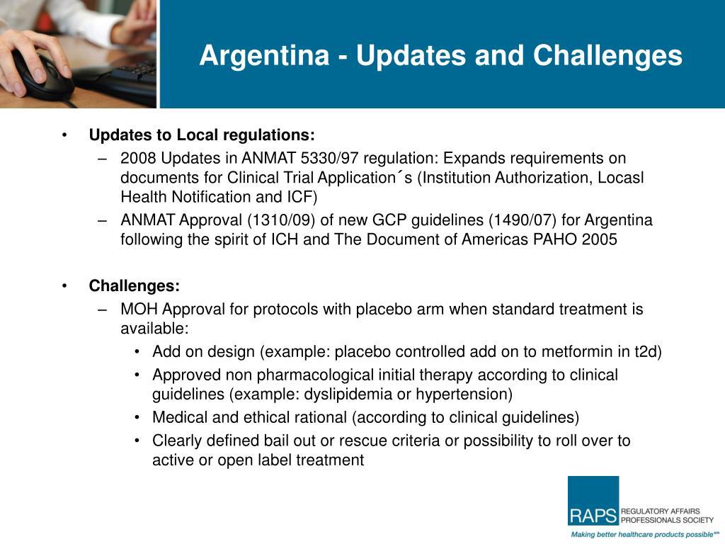 Argentina - Updates and Challenges