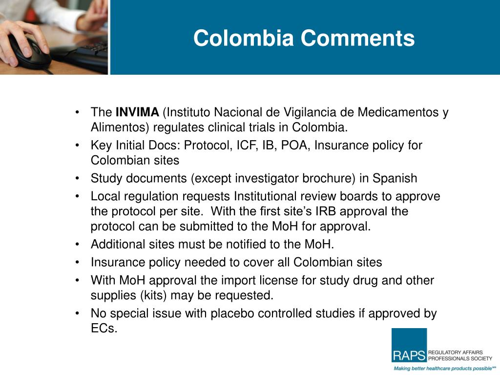 Colombia Comments
