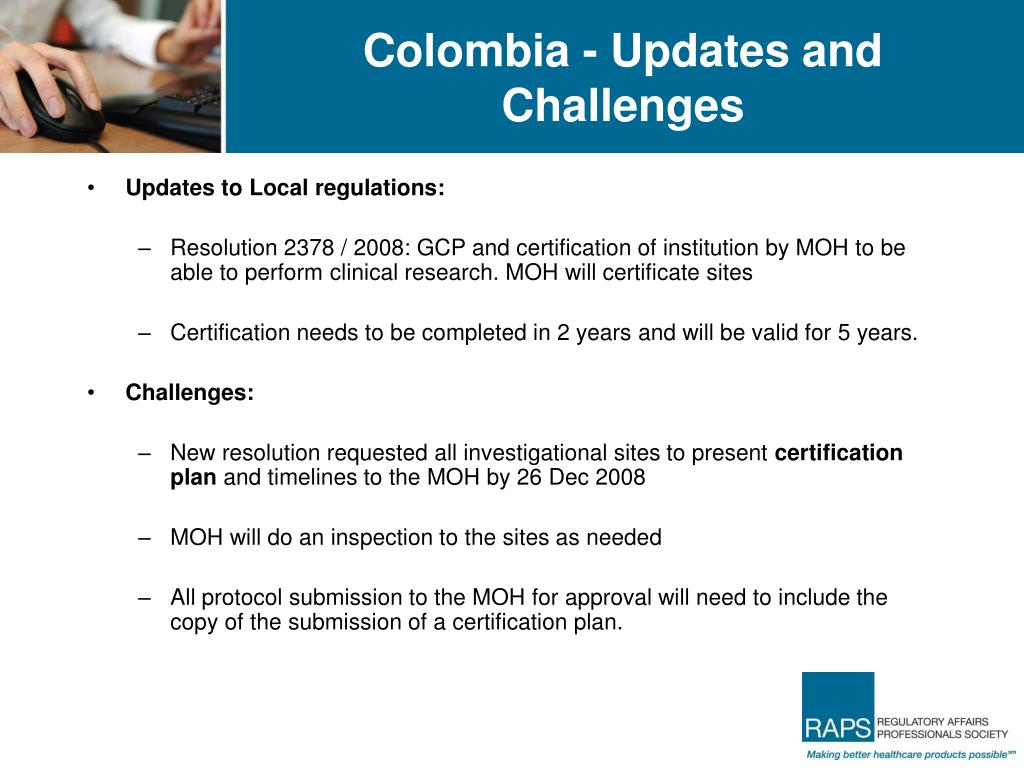 Colombia - Updates and Challenges
