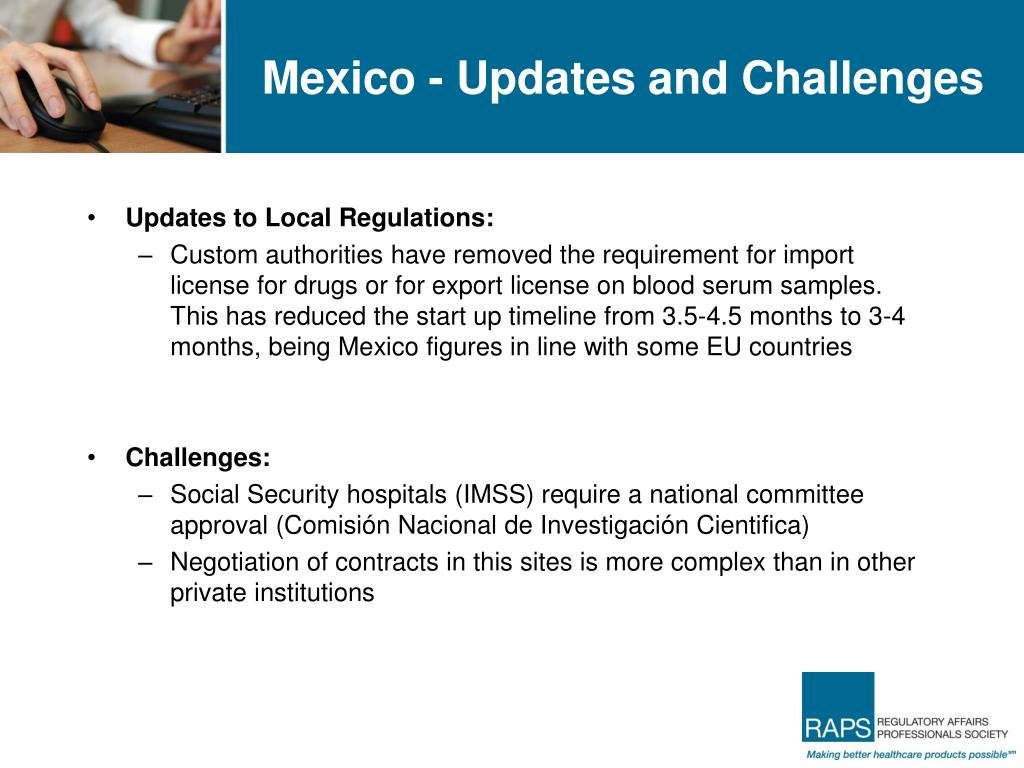 Mexico - Updates and Challenges