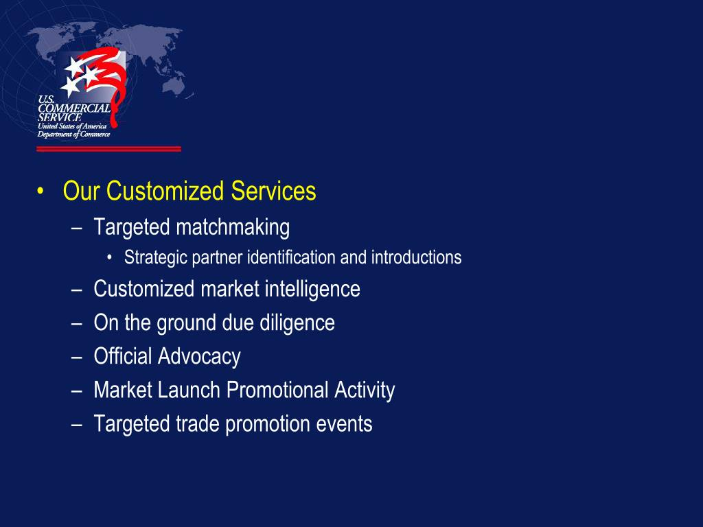 Our Customized Services